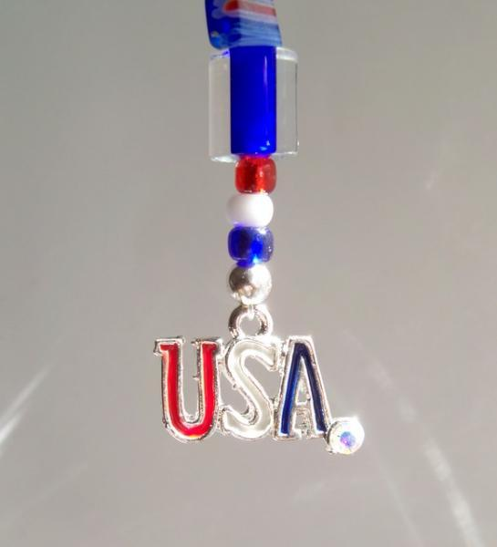 Fun Stuff -  USA Zipper Pull