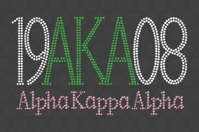 Alpha kappa alpha sorority bundle svg, 35 Aka Girl gang svg, aka sorority gift,