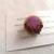 Purple Bronze Rose Flower Wreath Brooch