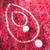 """Pink Grapefruit Necklace and Bracelet Set for 18"""" Doll"""