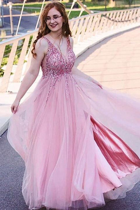 Sparkling Tulle Prom Dresses Formal Dresses Wedding Party Dresses ,2064