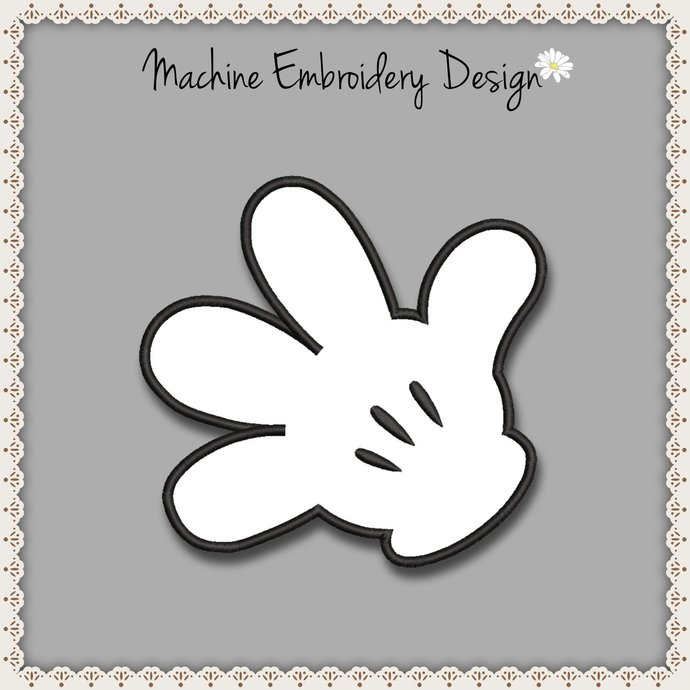 Embroidery Machine Designs Minnie Mouse Pes Applique