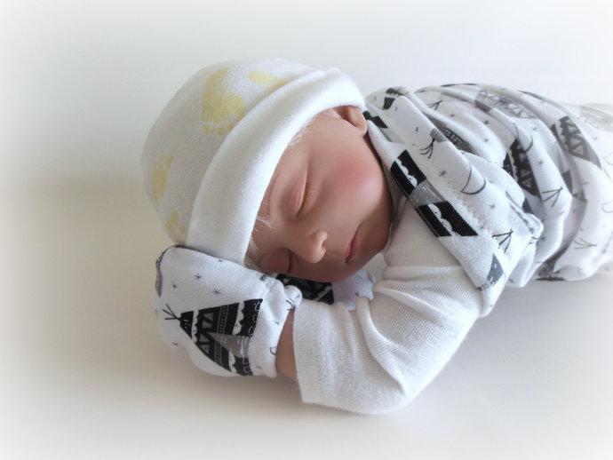 Teepee Swaddle Sack, Teepee Sleep Sack, Teepee Cocoon, Teepee Baby Scratch