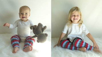 Custom Made to Order Knit Leg Warmers Infant/Tod Size & Tod/Child Size Many