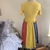 Vintage Serbin by Muriel Ryan tee shirt dress