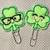 SHAMROCK Planner Clips - St Patrick's Day