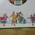 """Victorian Christmas Letter Stationery Paper Holiday Skaters 100 Sheets 8.5"""" x"""