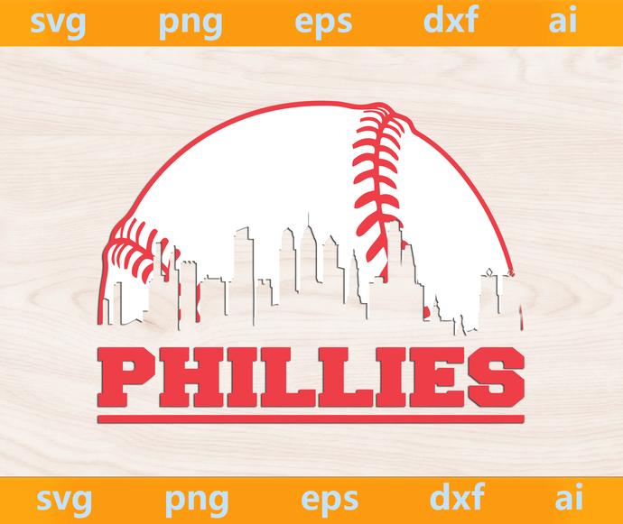 Phillies Baseball svg, Phillies svg, Philadelphia Phillies svg, Philadelphia