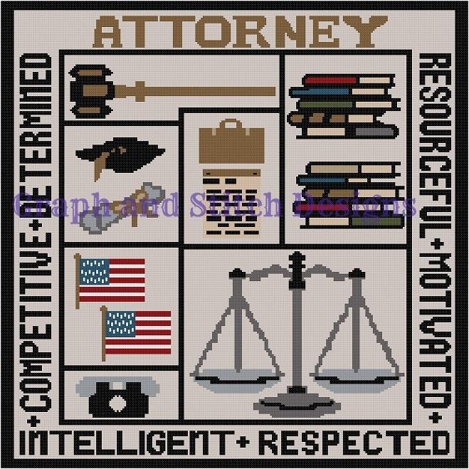 Attorney blocks graph and written