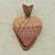 Wonderstone Jasper Copper Pendant  -  Wire Wrapped Woven Jewelry  (P102)