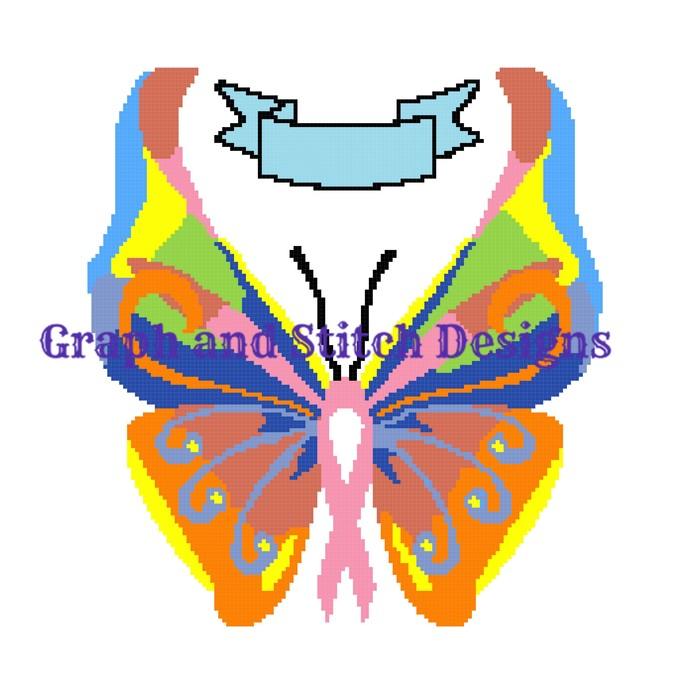 Awareness Butterfly graph and written
