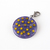 Dreamland Resin Star Charm with Clip, Purple, Gold, Stainless Steel, Handbag