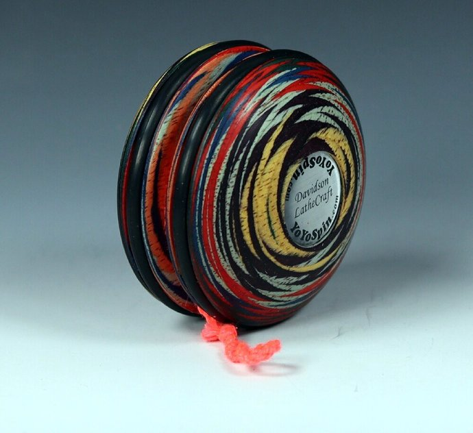 ColorPly Wood Handmade Yo-Yo