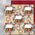 Winter Digital Paper, Winter Digital Background, Snowman card, Snow Digital