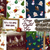 Christmas Digital Paper, Christmas Digital Background, Christmas Digital