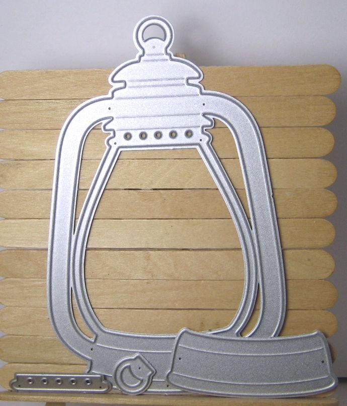 Large Camping Lantern Die Set