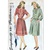 Simplicity 4714 Misses Casual Dress 40s Vintage Sewing Pattern Size 12 Bust 30