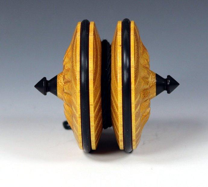 Handmade Terror Top Yo-Yo: Osage Orange