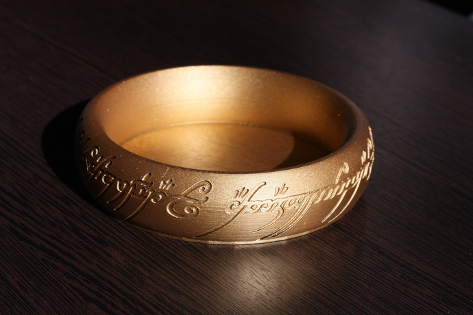 The One Ring - ring holder | ring bowl | Ring Dish |  Lord of the Rings Jewelry
