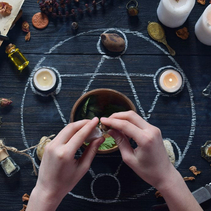 New moon spell kit ..Home use