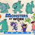 Monsters Inc SVG Bundle, Monsters at Work Silhouette, Sulley, Mike and Boo,