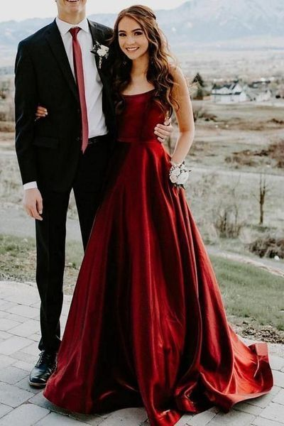 Charming Sleeveless A Line Formal Prom Dress, Wedding Guest Dress