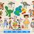 Toy Story SVG Bundle, Woody, Buzz, Jessie, Duchy and Bunny, Forky Svg