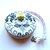 Small Tape Measure Damask Bees Measuring Tape