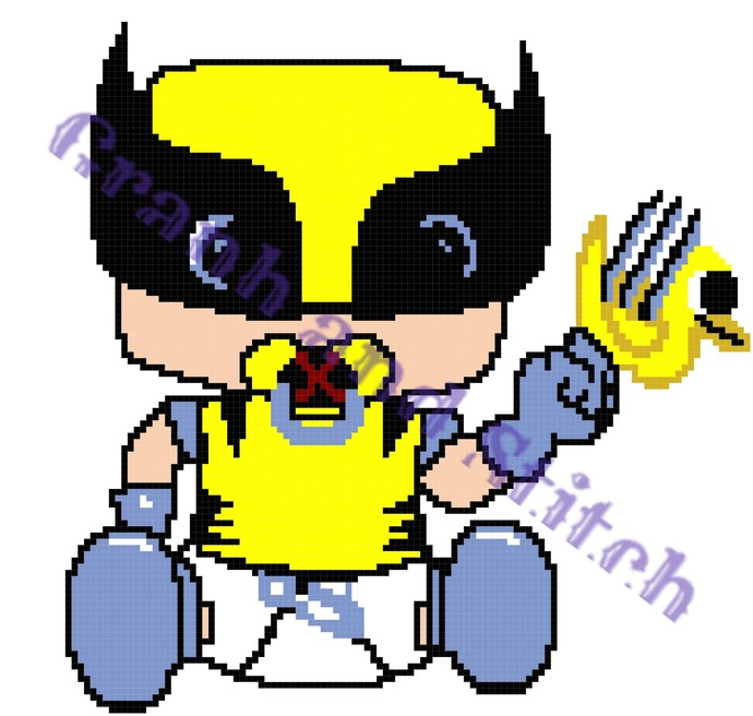 Baby Wolverine graph and written for C2C