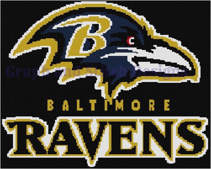 Baltimore Raven graph and written
