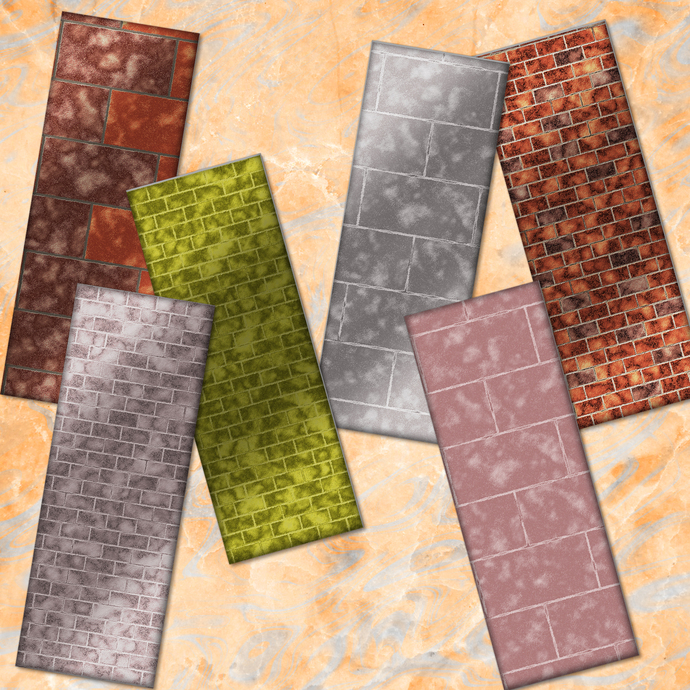 Brick Bookmarks, Brick Printable, Bricks Digital Bookmarks, Brick Prints,