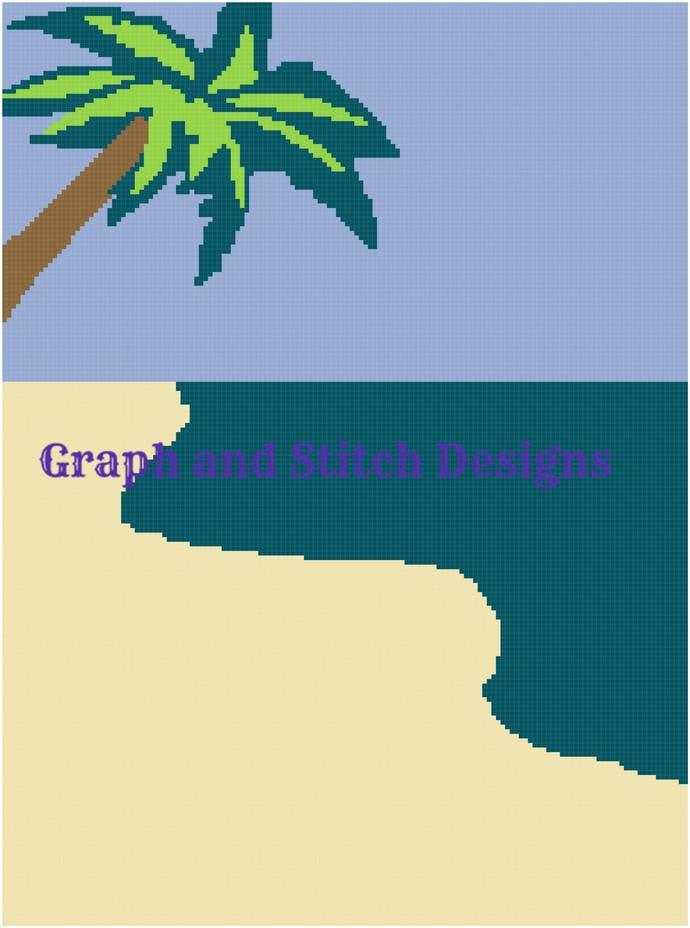 Beach graph and written