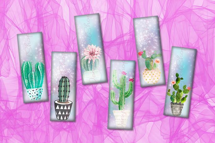 Printable Bookmarks Cactus,Cactus Printable,Bookmarks,Bookmarks