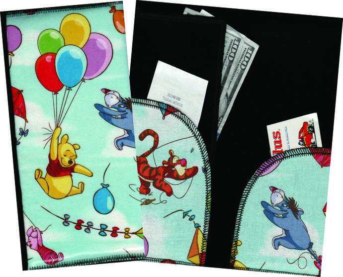 Server Wallet / Book - Disney Winnie The Pooh