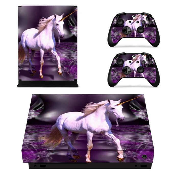 Unicorn xbox one X skin