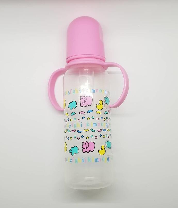 'Alphabet friends' Adult Bottle with handles