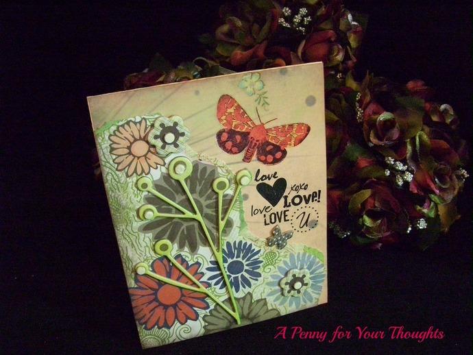 Love,Love,Love You Handmade Valentine