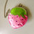 strawberry & blueberry purse with chain, crossbody bag, cute, for girl, for