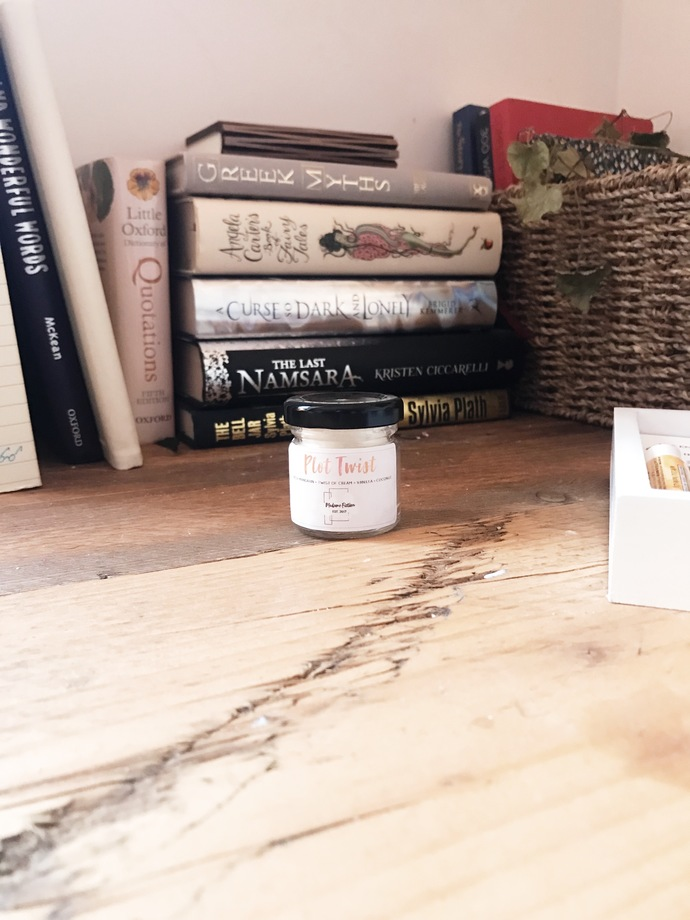 Plot Twist - 1.5oz Candle - Reading Inspired - Scented Soy Candle - Book Lover