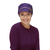 Chemo headwear with a difference - stylish newsboy hat for womens' hair loss,