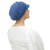 Chemo cap with a difference - stylish Baker Boy cap for womens' hair loss,