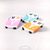 PREORDER Whimsical Cats Road Trip Handmade Hand Painted Polymer Art Pins