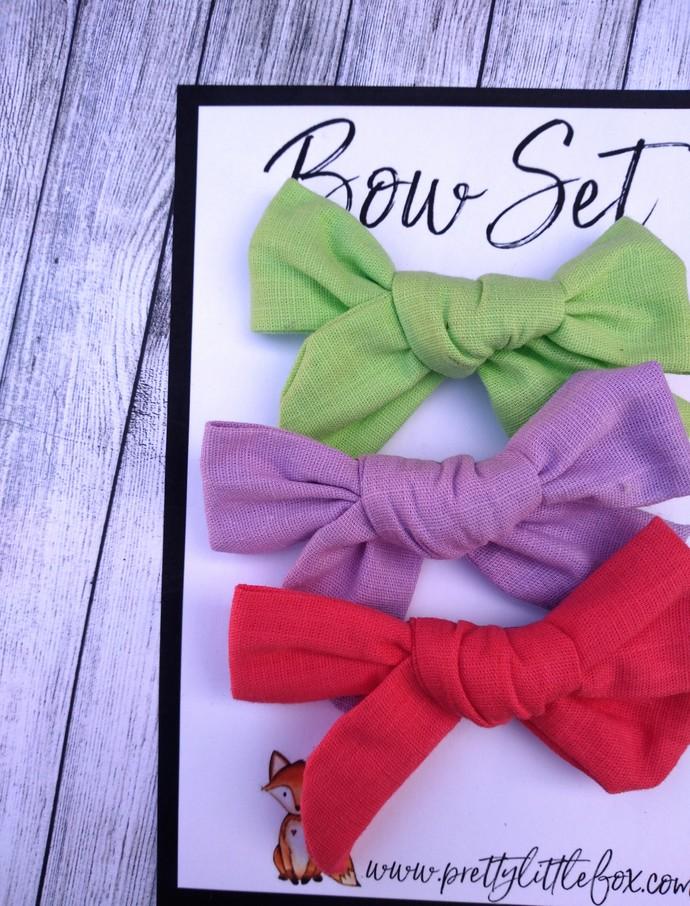 Kinsley Bow Set 7