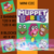 Muppet Babies - Mini C2C includes graphs with written color charts