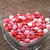 Heart-Shaped Crystal Clear Pressed Glass Candy Dish Bowl Valentine's Day LOVE