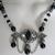 Gothic Necklace, handmade jewelry victorian art nouveau renaissance medieval