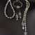 Necklace+bracelet+earrings full set inspired by Chanel