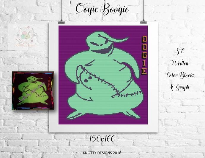 Oogie Boogie Crochet Written and Graph Design