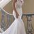 Mermaid fashion prom dress Beach Wedding Dress