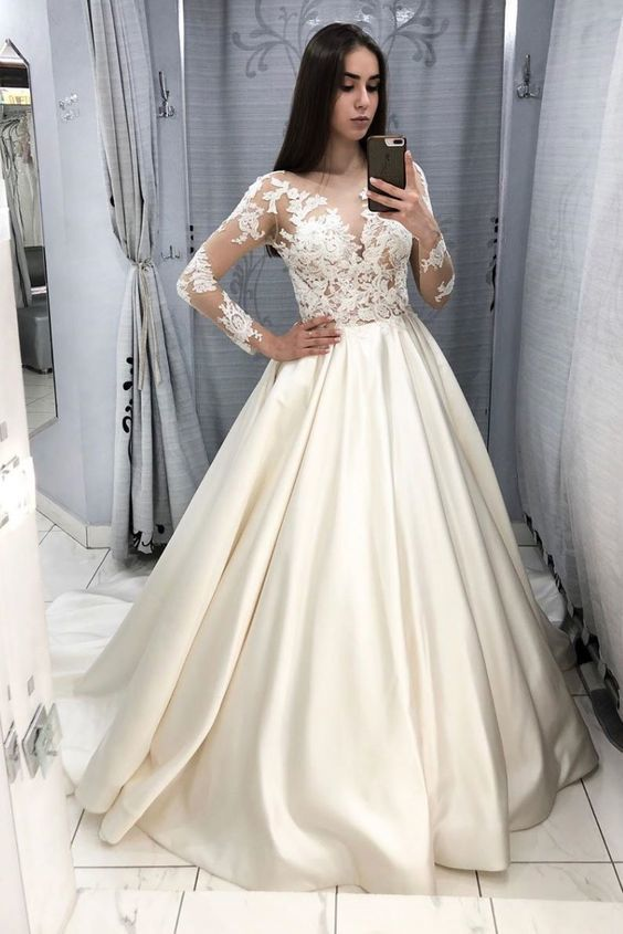 lace applique prom dresses ball gown vestido de festa de Longo off the shoulder